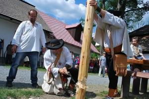 Kácení mája Velké Karlovice
